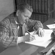 Fráňa Šrámek v roce 1946