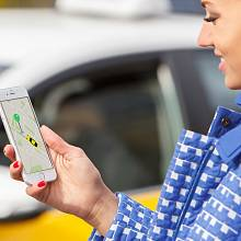 Používání služby Taxify, která je alternativní taxislužbou - podobně jako třeba Uber nebo Liftago