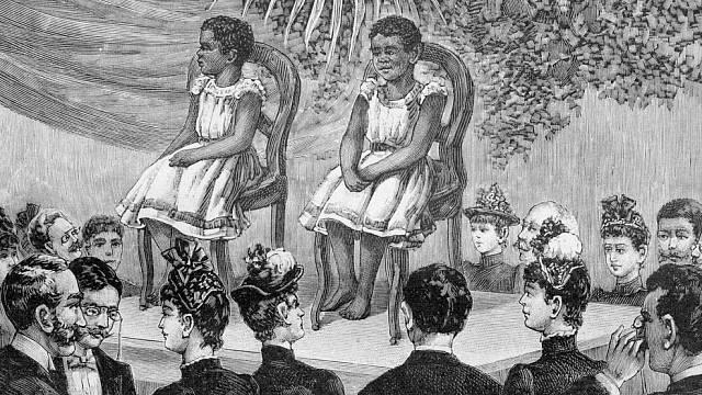 Lidé odlišných etnik bývali vystavováni jako zvířata.