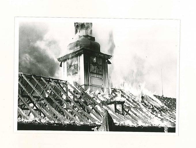 Požár na Svaté Hoře