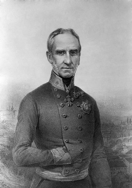 Generál Alfred kníže von Windischgrätz