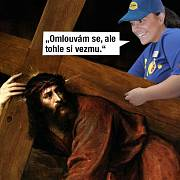 Kristus by to měl v Lidlu těžké