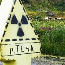 Řeka Teča a její okolí bylo silně zasažené radiací