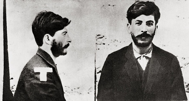 Josif Stalin vdobách, kdy si ještě říkal Koba.