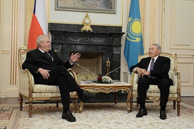 Listopad 2014: Svšemocným vládcem Kazachstánu Nursultanem Nazarbajevem