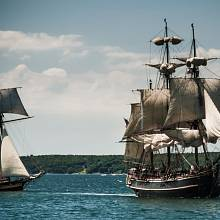 Vzpoura na lodi Bounty je nejslavnější námořní revoltou v dějinách