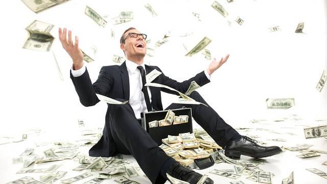 Ilustrační foto: Emoce, peníze, manažer, radost