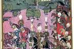 Dobové zobrazení bitvy u Moháče, které se stalo Ludvíku Jagellonskému osudným