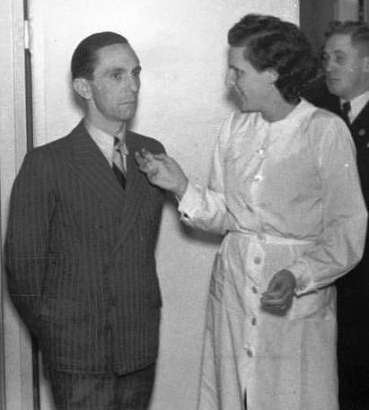 Joseph Goebbels a Leni Riefenstahlová