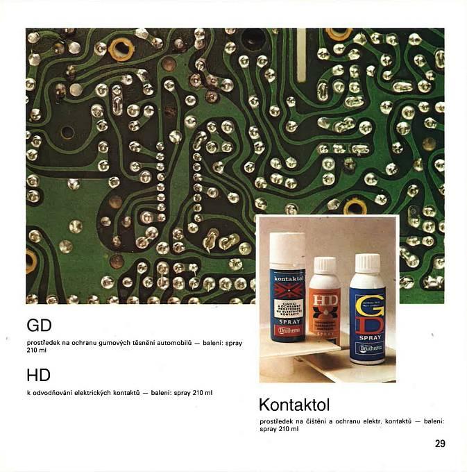 Kontaktol se používá na odstranění zoxidovaných částí nejen na elektrických spojích.