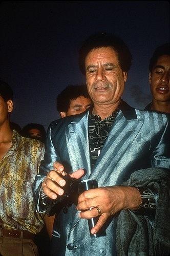 Ioutfity Muammara Kaddáfího byly pod drobnohledem celého světa.