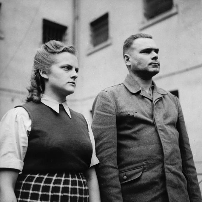 Irma Grese a Josef Kramer