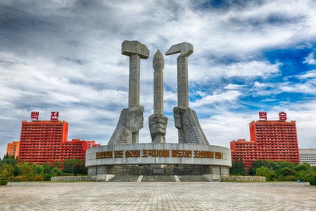 Památník založení Strany práce KLDR
