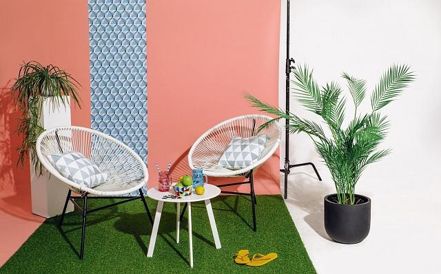 Na Bonami vám poradí svýběrem zahradního nábytku ijeho slazením.