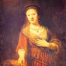 Rembrandt van Rijn: Portrét Saskie, 1641