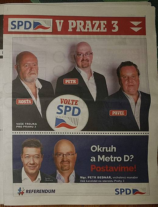 """SPD tak trochu převzala strategii """"Prostě to zařídíme"""" od ANO"""
