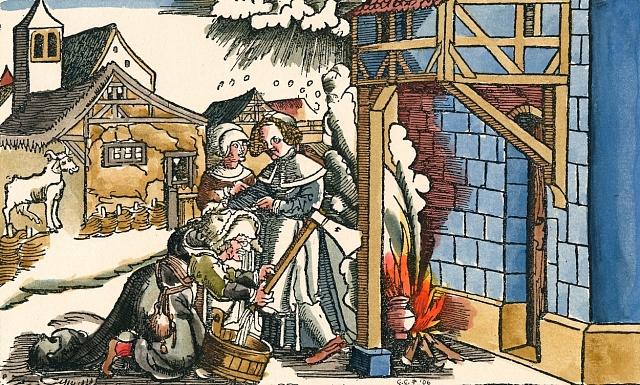 Inkvizice nakonec začala stíhat iprosté ženy provozující lidovou magii.