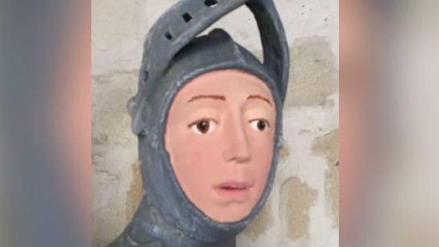 Přetvořená tvář Svatého Jiří