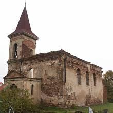 Kostel sv. Michala ve Všestudech na Chomutovsku