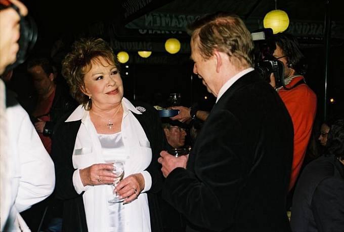 Jiřina Bohdalová a Václav Havel (1989–2003)
