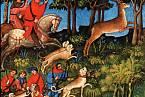 Základem stravy středověké šlechty byla zvěřina a vepřové maso.