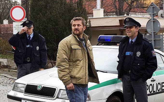 Vojtěch Kotek, Karel Zima a Miroslav Táborský ve filmu Trapasy