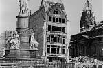 Rozbombardované Drážďany