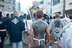 Členové zločinecké organizace Yakuza