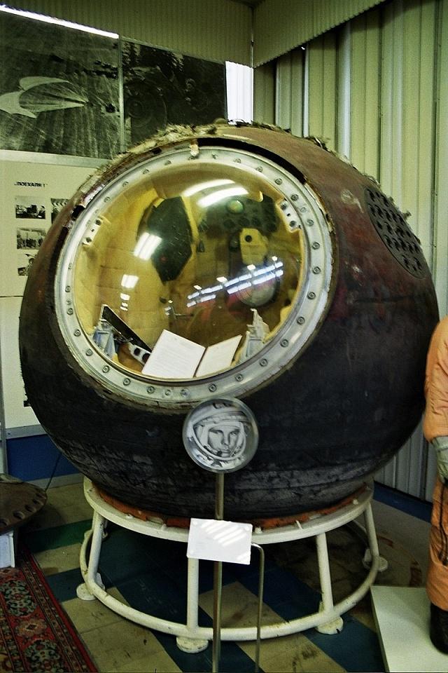 Vostok 1po přistání na zem