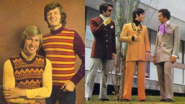 Pánská móda 70. let