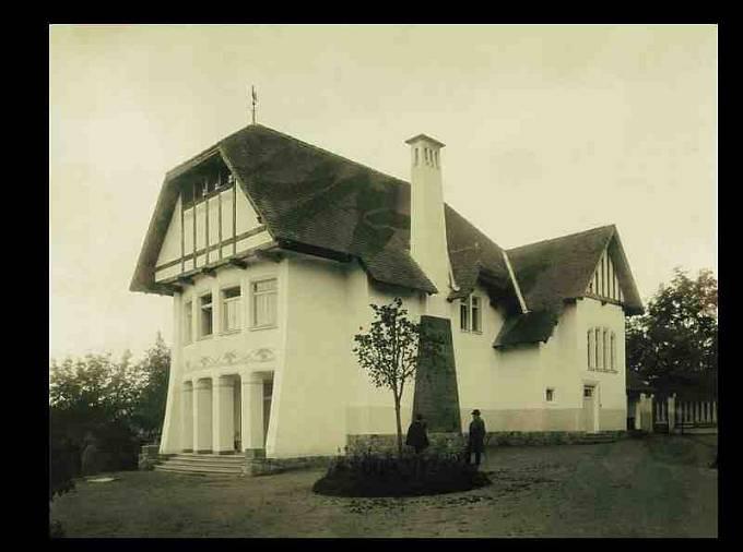 Máchova vila vBechyni (1902–1903)
