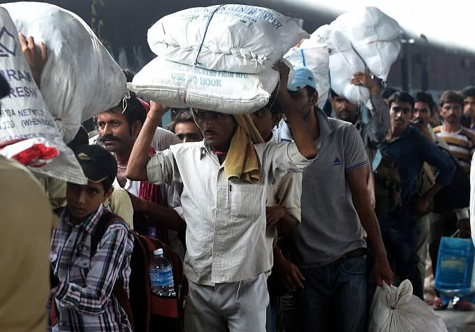 Indové a jejich zavazadla