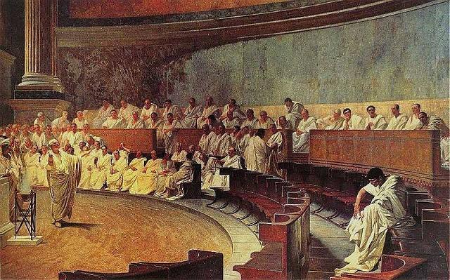 Senát ve starověkém Římě