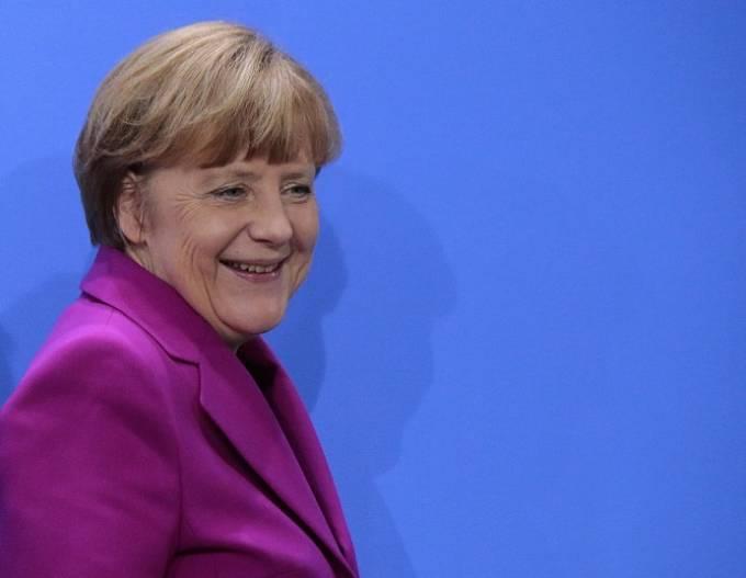 Merkelová v březnu 2015