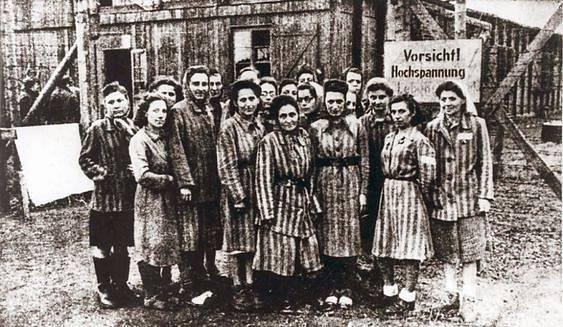Vězněné ženy v Ravensbrücku