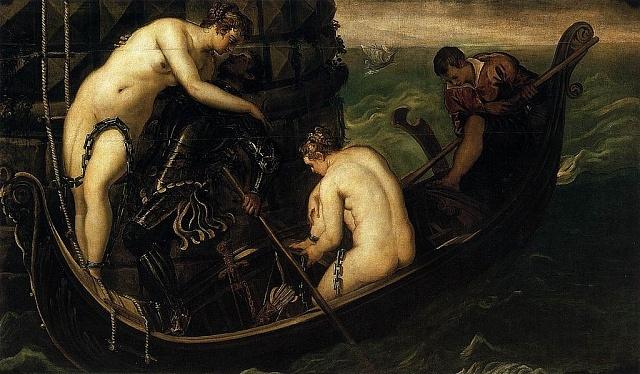 Osvobození Arsinoé (Jacopo Tintoretto)