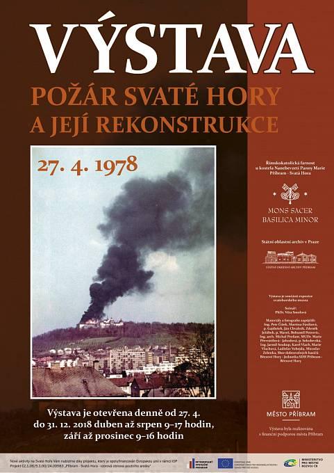 Požár připomene i velká výstava, která poběží od 27. dubna do konce roku