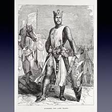 Anglický král Richard I., přezdívaný Lví srdce