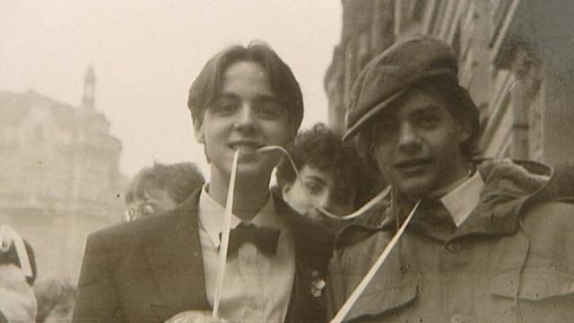 David Kabzan (vlevo) v 80. letech