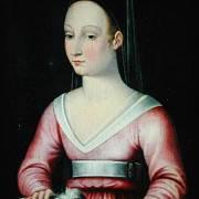 portrét Agnes Sorel
