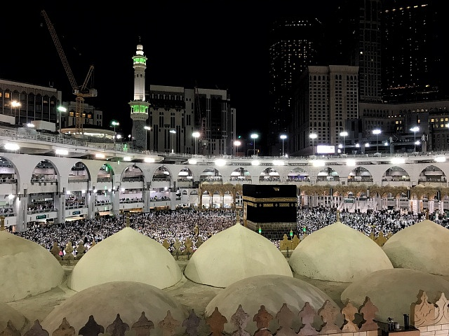 Muslimové v Mekce, ilustrační foto
