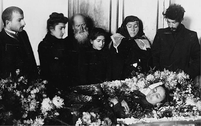 Pohřeb Stalinovy manželky Jekatěriny
