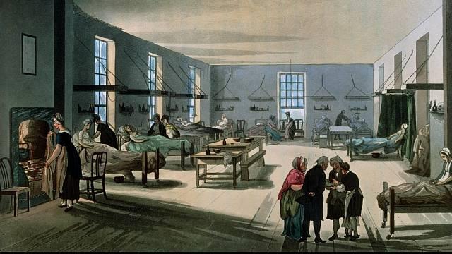 V minulosti probíhaly porody jako v továrně, čemuž odpovídaly i hygienické podmínky