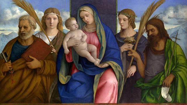Madonna s dítětem od renesančního malíře Giovanniho Belliniho