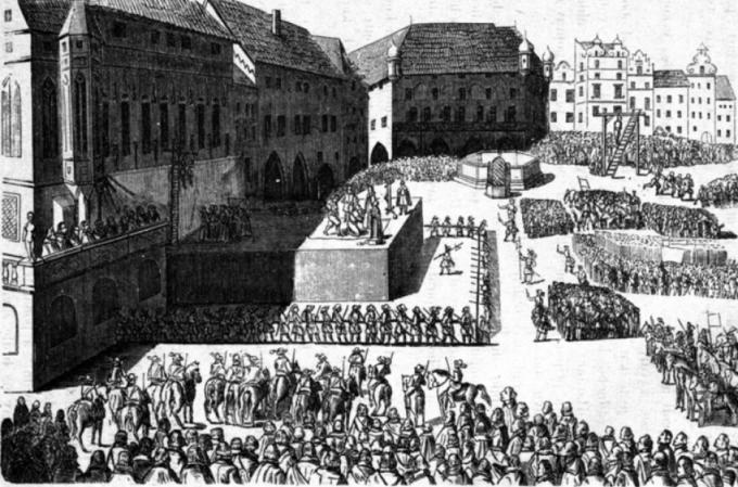 Veřejné popravy nebyly ničím výjimečným
