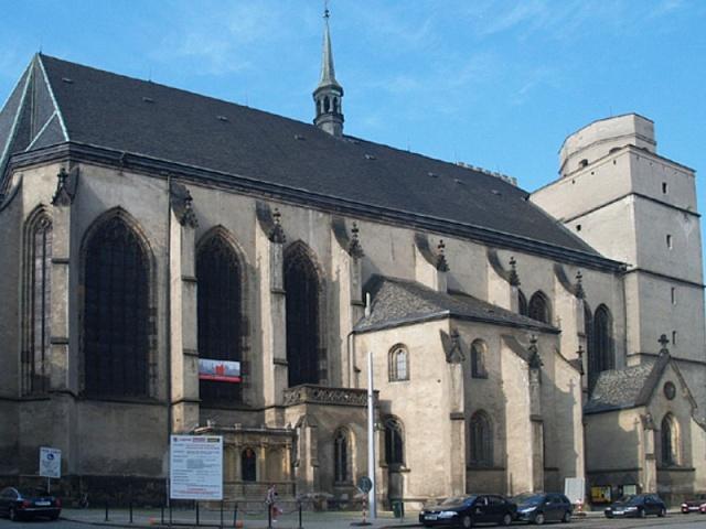 Kostel svatého Mořice vOlomouci