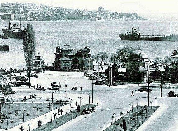 Celkový pohled na čtvrť Beşiktaş