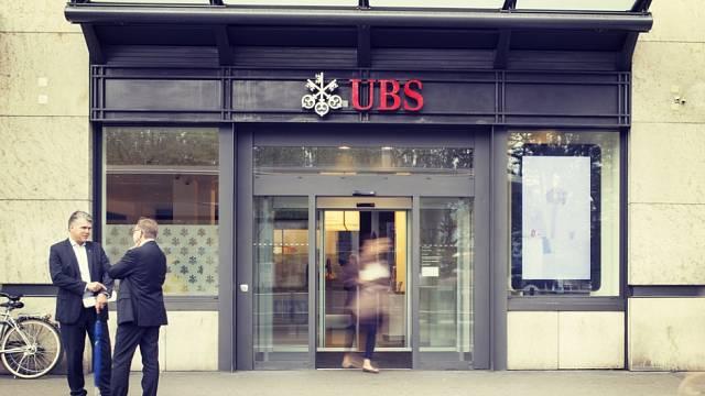 Banka UBS v Curychu. Ilustrační foto.