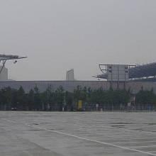 Jeden z olympijských stadionů, Peking 2008