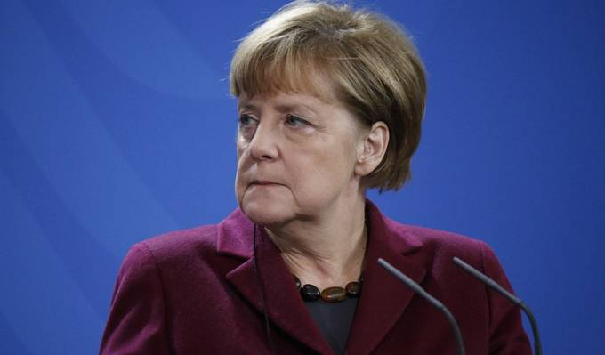 Merkelová v listopadu 2016
